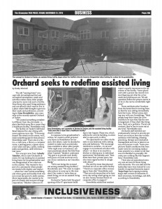 Orchard at Tucker Article